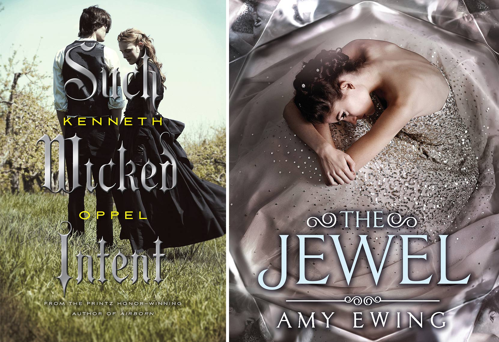Such Wicked Intent - Kenneth Oppel - Jewel - Amy Ewing | Michael Frost Photography