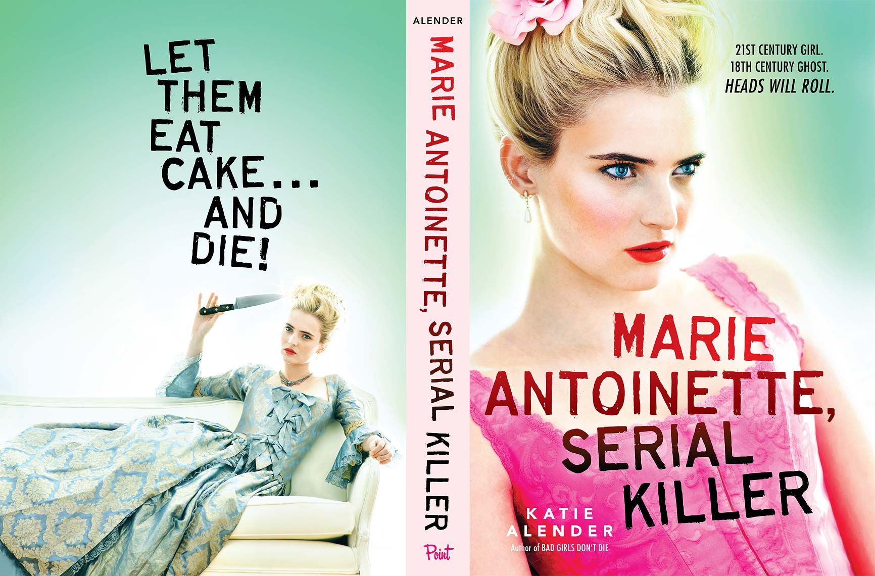 Marie Antoinette, Serial Killer - Katie Alender | Michael Frost Photography