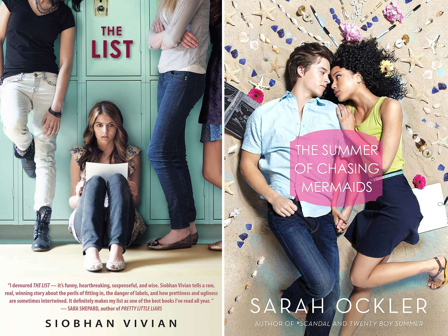 The List - Siobhan Vivian - Sarah Ockler | Michael Frost Photography